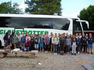 Klassenfahrt der 7/1 und 7/2 an die Ostsee