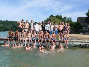 Bei gutem Wetter war das diesjährige Schwimmlager ein voller Erfolg