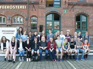 Klassenfahrt 10a mit Klassenlehrer Torsten Pohl HP