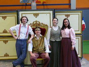 Das Team des White Horse Theatre
