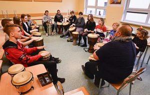 Schulzentrum Neutrebbin, Weihnachtsfeier in der Partnerschule im polnischen Bogdaniec
