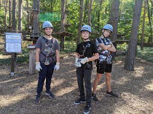Kletterwald1 Klasse 7 Joshua Kanehl, Darren Palm, Noah Gorgas HP